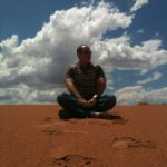 meditation-on-red-sand